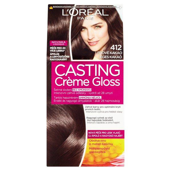 Casting Crme Gloss 412 Iced Cocoa Hair Color Peppery Spot