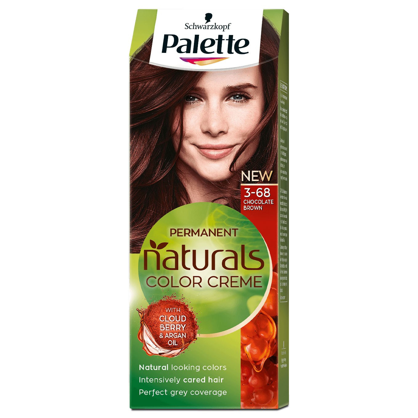 Home Health Beauty Hair Care Coloring Permanent Palette Naturals Color Creme 868 3 68 Chocolate Brown