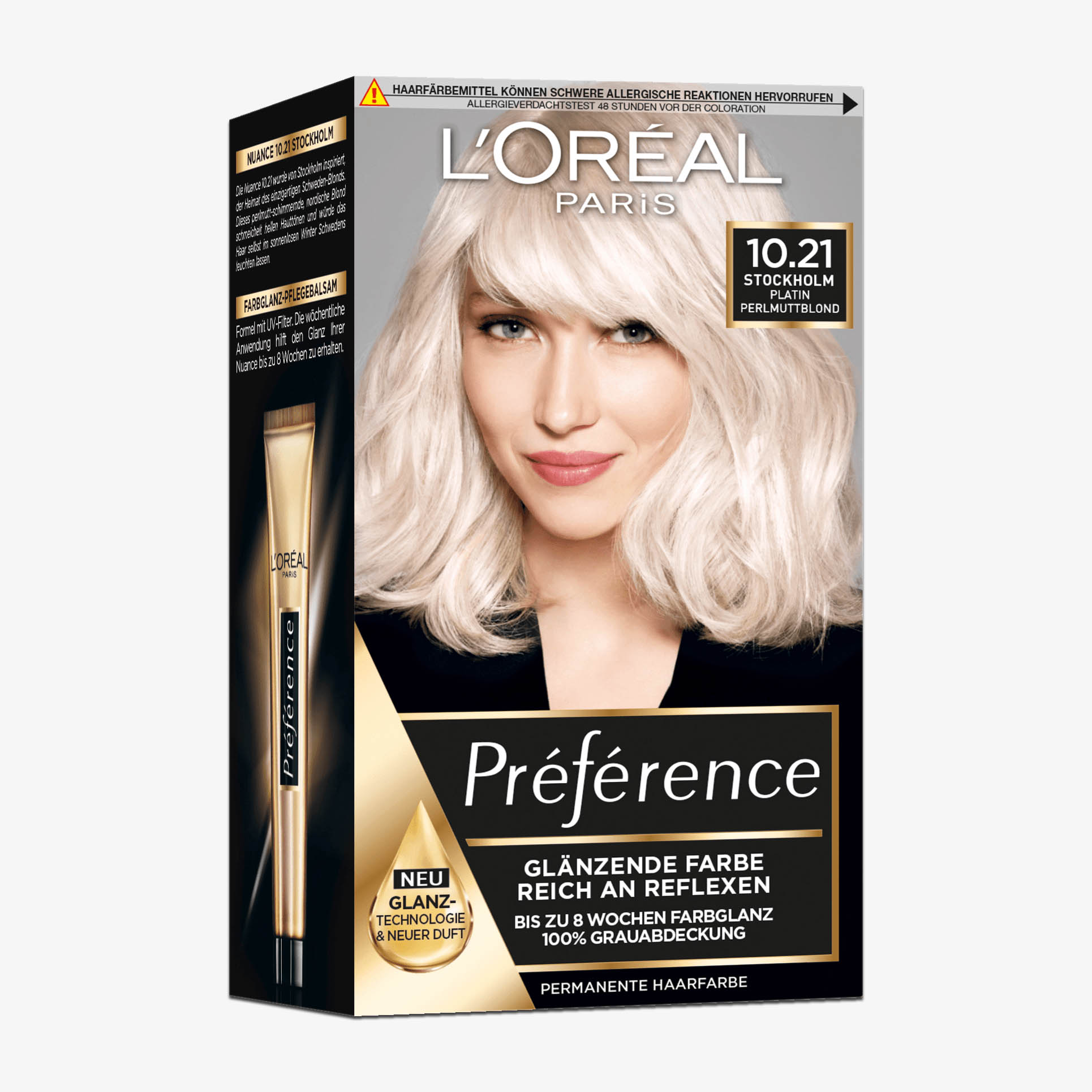 Haarfarbe loreal preference stockholm