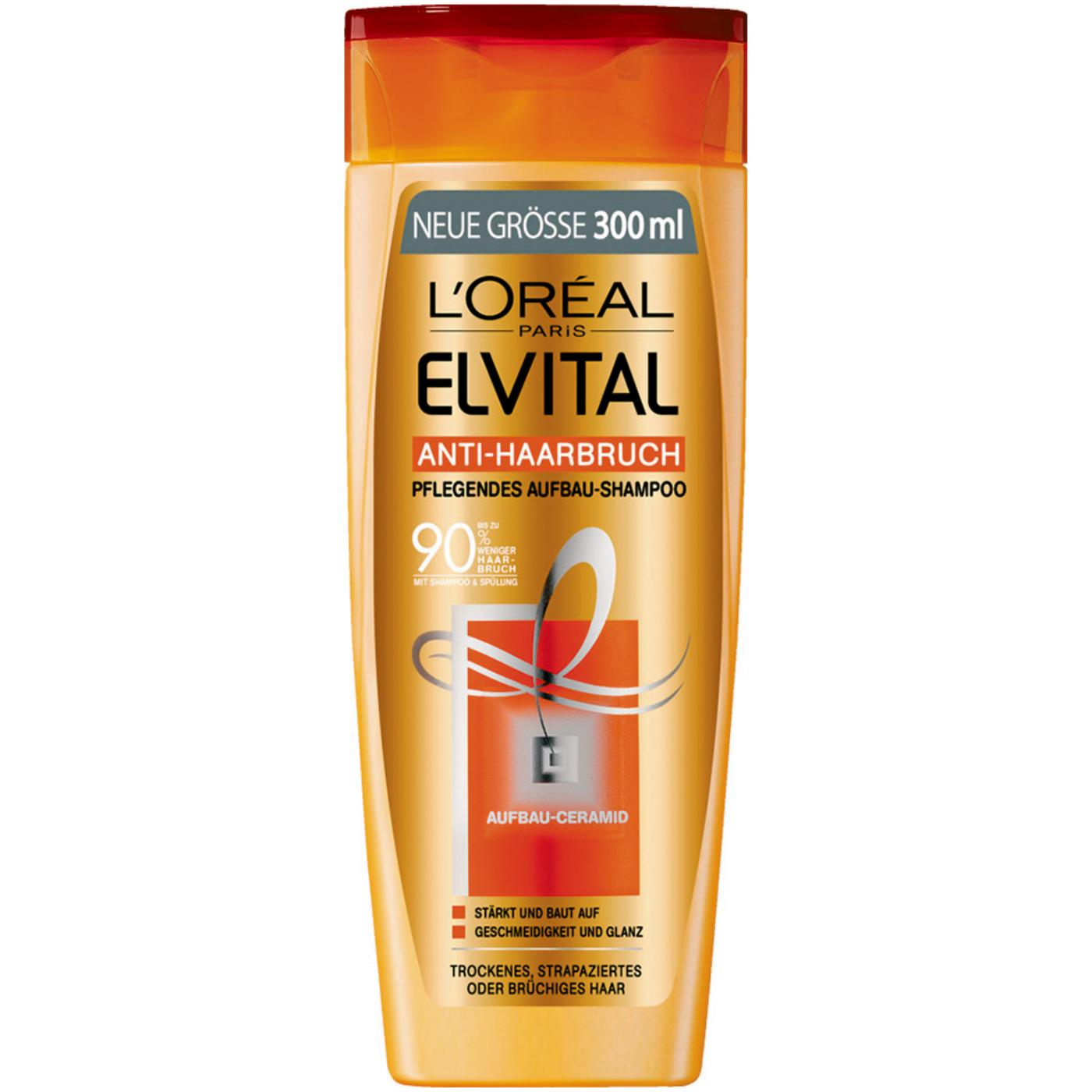 Loreal Paris Elvital Anti Breakage Repairing Shampoo 300ml 101 Fl Fall Repair