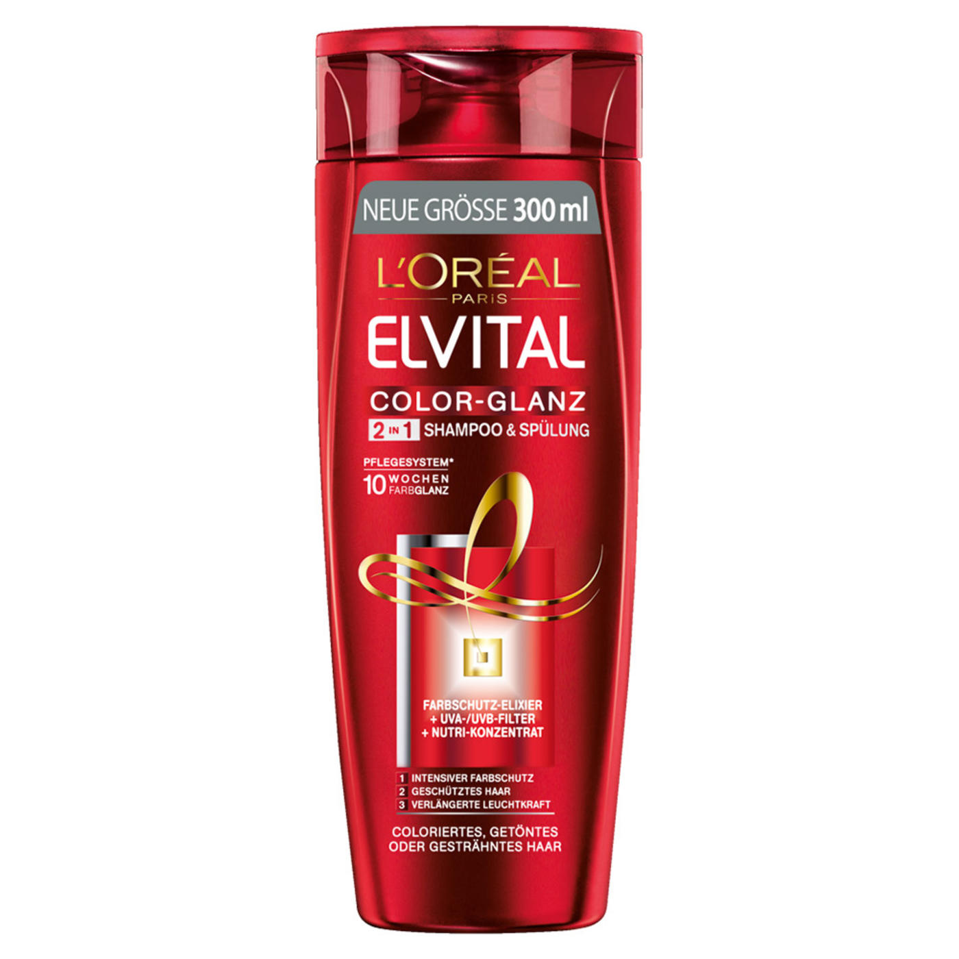 Loreal Paris Elvital Color Shine 2in1 Shampoo Conditioner 300ml