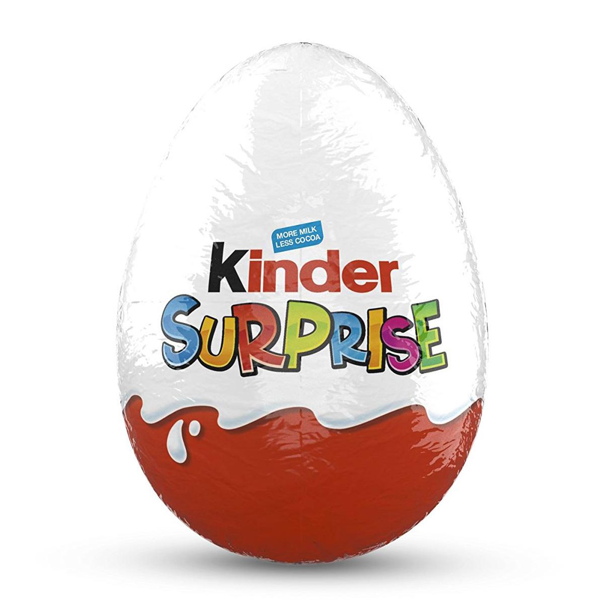 Ferrero Kinder Surprise Chocolate Egg 20g 0 7 Oz Peppery Spot